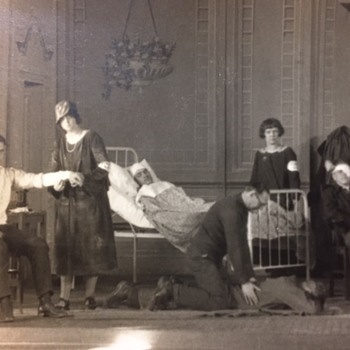 "Beautiful 1925 Panoramic Photo ""First Aid Play"" - Photographs"