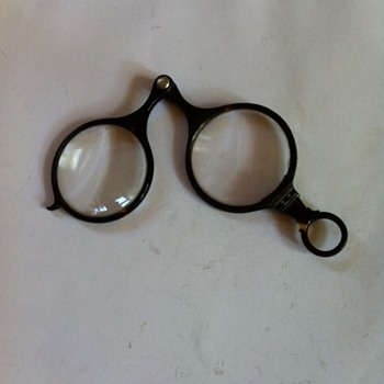 Antique turtle shell glasses. - Accessories
