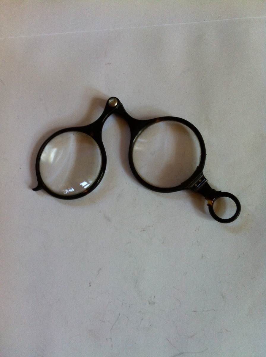 fbe9e6ded76 Antique turtle shell glasses.