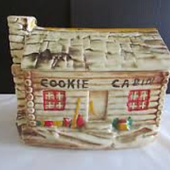 Cookie Cabin Jar