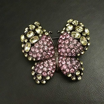 Nolan Miller butterfly - Costume Jewelry