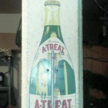 Atreat thermometer Sign
