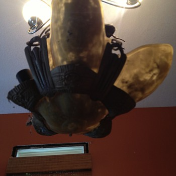 Old light fixture - Lamps