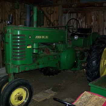 Our 1950 John Deere A - Tractors