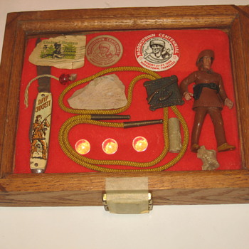 Davy Crocket case - Toys