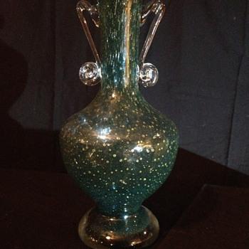 Cased Trophy Vase - Art Glass