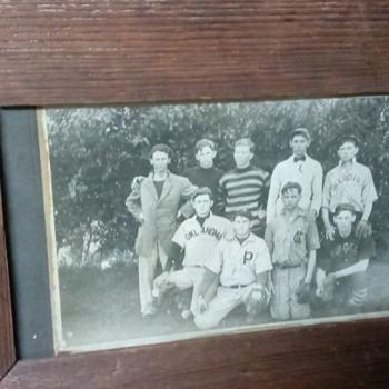 1889 baseball cabinet photo - Baseball