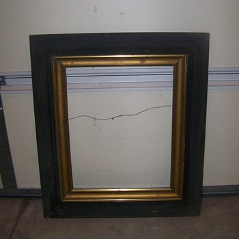 Barn Find Old Painting Frames, Any Ideal of the Style????? or the Year???? - Fine Art