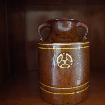 art nouveau jug from holland