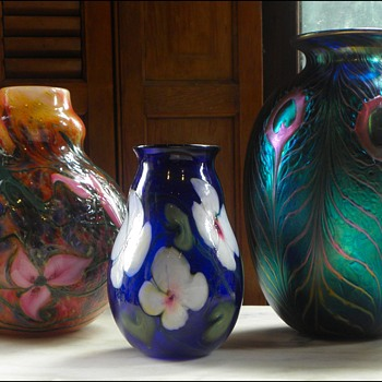 Charles Lotton Trio - Art Glass
