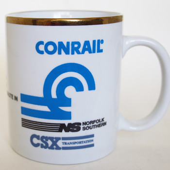 Conrail, Norfolk southern and CSX Coffee Mug... - Railroadiana