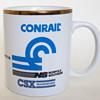 Conrail, Norfolk southern and CSX Coffee Mug...