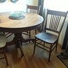 Moms oak chair