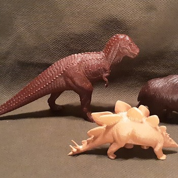 British Museum of Natural History Prehistoric Animals by Invicta 1980s - Toys