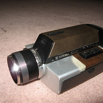 Kodak XL55 Movie Camera - Cameras