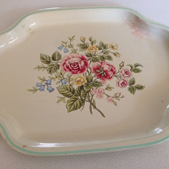 Avon Metal Tray from the 80's - Kitchen