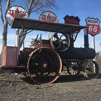 1907 Aultman-Taylor Steam Tractor - Signs