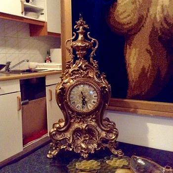 Brass clock - Clocks