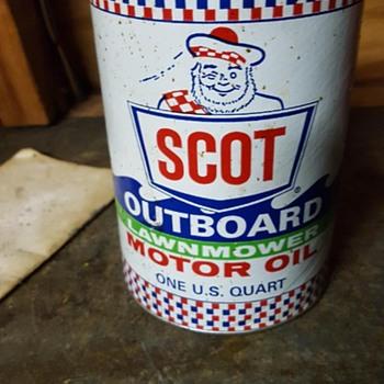 Scot Oil Can - Petroliana