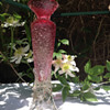 Frit and thorn vase