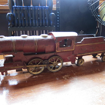 1920's hill climber toy train, original . - Model Trains