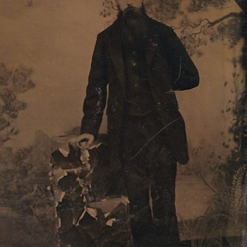 Late 1800s Tintype photo. Who is it? - Photographs