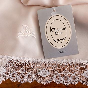 Monogrammed Christian Dior half slip - Womens Clothing