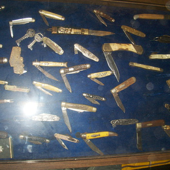 Knife collection - Military and Wartime