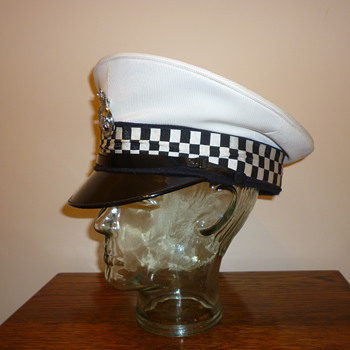1970's British Police Traffic Police cap (cover) - Hats
