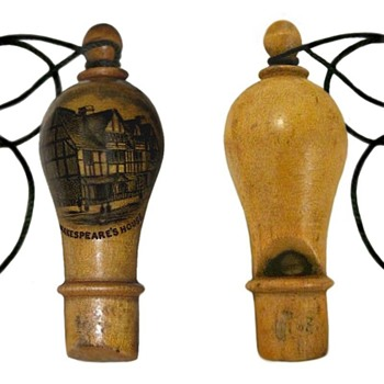 Mauchline ware Whistle - Tools and Hardware