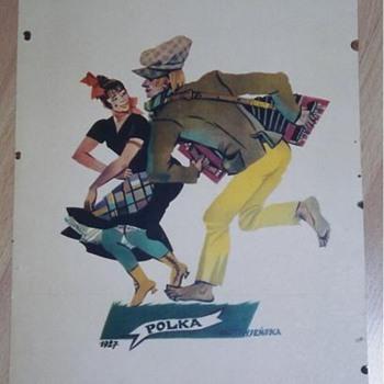 Polish Artist  - Zofia Stryjenska - Dances - 1929