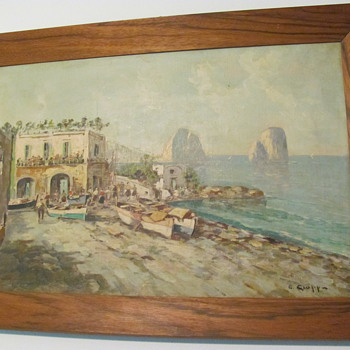 2 seperate Oil Paintings signed by Ciappa - Fine Art