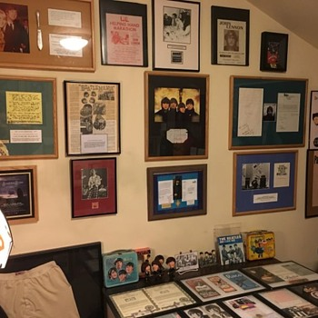My Beatles Room-2020 - Music Memorabilia