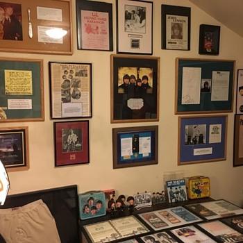 My Beatles Room-2021 - Music Memorabilia