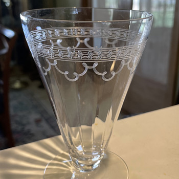 Art Deco Etched Crystal? - Art Deco