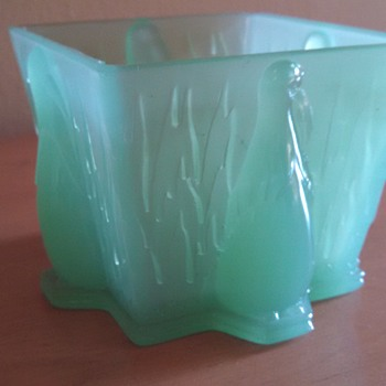 Art Deco Penguin Vanity Jar - Art Deco