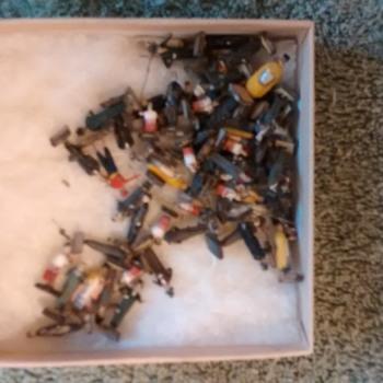 Miniature figures (paper mache) - Toys