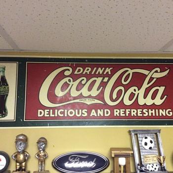 coke sign - Advertising