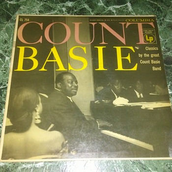 Mr. Count Basie...On 33 1/3 RPM Vinyl - Records