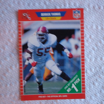 1989 Pro Set Derrick Thomas ROOKIE CARD
