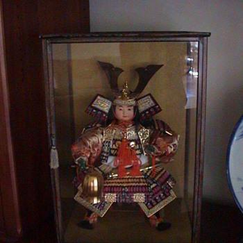 Vintage Japanese samurai doll - Dolls