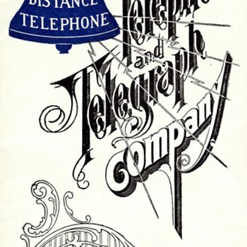 1900 AT&T Long Distance Brochure - Telephones