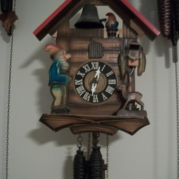 1 day German cuckoo clock - Clocks