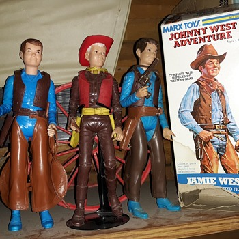 Marx Jamie West Johnny West Adventures Instruction Manual 1975 - Toys