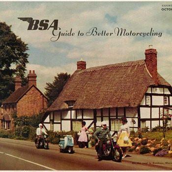 1961 - B.S.A. Motorcycles Sales Brochure - Paper