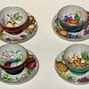 1950's Lenwile Ardalt Japan Teacups Signed  V Ohado ?