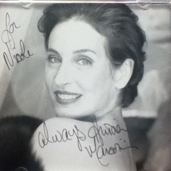 Andrea Marcovicci Autographed CD Covers - Music Memorabilia
