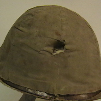 WW II Japanese Army Type 90 Helmet with Original Cover