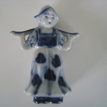 Dutch Girl Knick-Knack - Pottery
