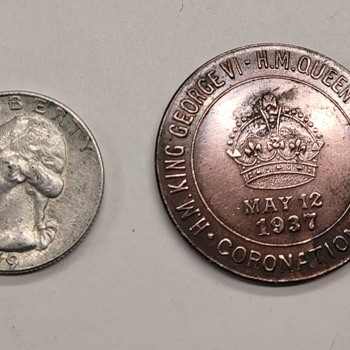 1937 The Lions Club Good Luck Token - US Coins